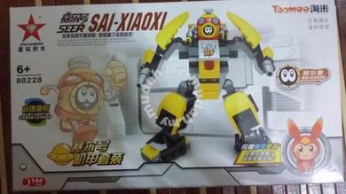 Bricks - SD 80228 Seer Sai-Xiaoxi Robot 2 boxs