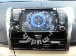 New Toyota vios dvd player 7 inch new look gps