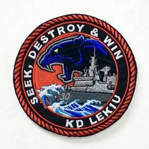 TLDM KD Lekiu patch