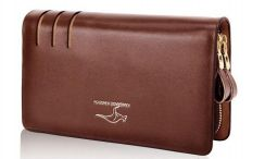Jt82 leather clutch bag