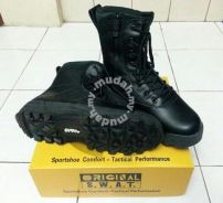 SWAT Tactical Boots Classic 9 Side Zip