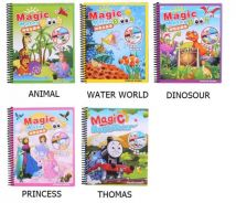 Magic Drawing Water Paint Book