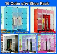 16 cube wardrobe with shoerack