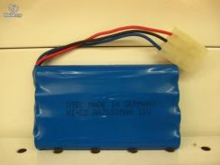 NiCd RC Rechargeable Battery 9.6v (3 Pin)
