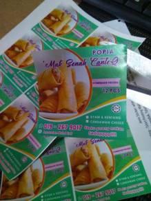 Cetak Stiker Sticker Label Produk