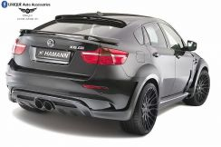 BMW X6 Hamann Rear Boot Spoiler (ABS) w/ Paint