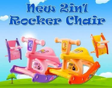 New 2 in 1 rocker chair