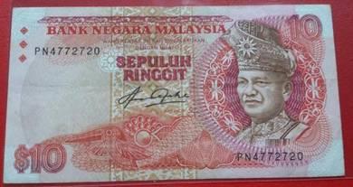 Wang Kertas RM10 Siri 5 Aziz Taha PN4772720