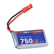 3.7V 750mAh Rechargeable Lipo RC Battery