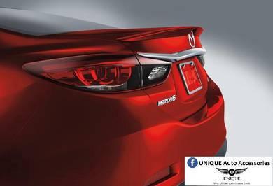 Mazda 6 OEM Lip Spoiler (ABS material) + Paint