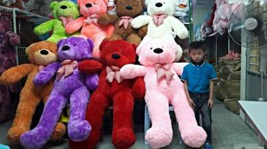 Teddy bear besarr bermacam saiz