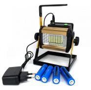 Led rechargeable portable flood light outdoor 50w