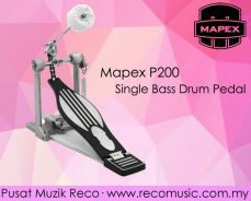 New Mapex Single Bass Drum Pedal P200