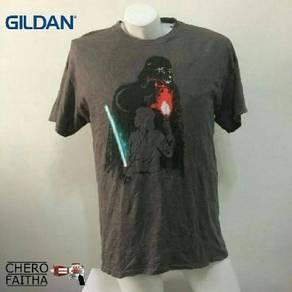 Starwars by gildan shirt baju