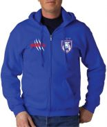 Sweater Pullover Hoody Hoodie JDT Royal Blue