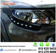 Mitsubishi Triton Lamp Cover Carbon With LED