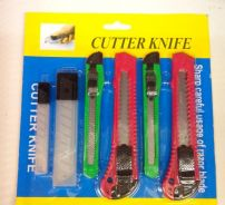 Mini set Cutter knife pisau tangan