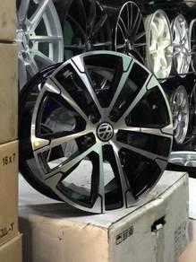 NEW RIM 16inch 5x100 VW Vento Wheels Design
