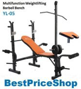 BPS Weightlifting Barbell Squat Gym Bench YL-05