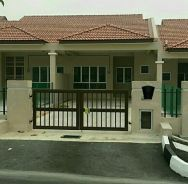 House for malay family only.