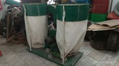 Double 3 phase dust collector