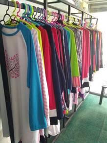 T shirt muslimah 70 helai