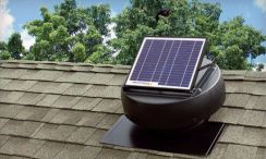 21AGVO FA Solar Powered Attic Vent Fan Germany