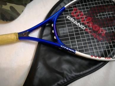 Wilson tennis racket.