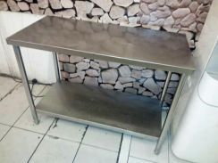 Meja stainless steel 3x2