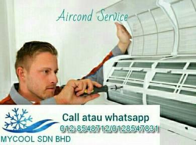 Servicing aircond