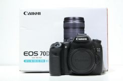 Canon EOS 70D Body Only (SC 6K, 99.9% new)