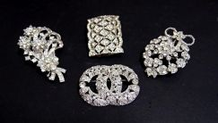 High Quality Big Sparkling Brooches