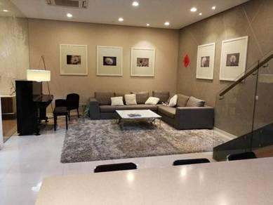 2.5Sty Zero Lot Bungalow Sunway Rydgeway Taman Melawati Fully Renovate