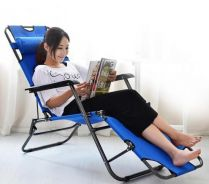 Breathable And Foldable Chaise Lounge Chair