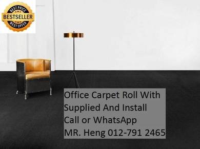 Classic Plain Design Carpet Roll with Install 234g