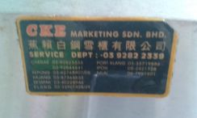 CKE Stainless Steel 2 Tungku Dapur Masak