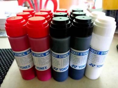 Yonex Stencil Ink & Stencil Logo Card