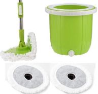 Designed In Korea Home Spin Mop Foldable Mop Head