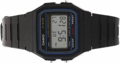 Jam Original CASIO Digital Watch F91W1 Resin Strap