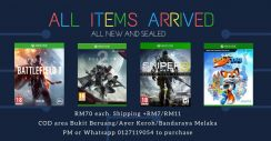 New Xbox One Games (Ready Stock)