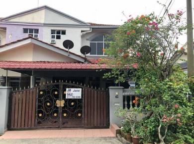Taman Sri KLUANG Renovated DOUBLE STOREY TERRACE HOUSE endlot