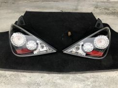Lampu Tail Lamp LED Smoke Nissan Latio HB C11 Jpn