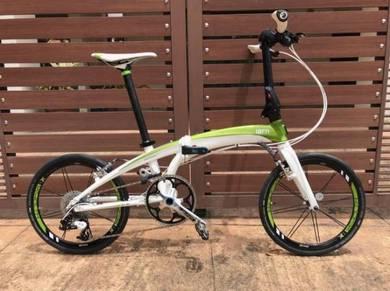 Tern X10 folding bicycle dahon