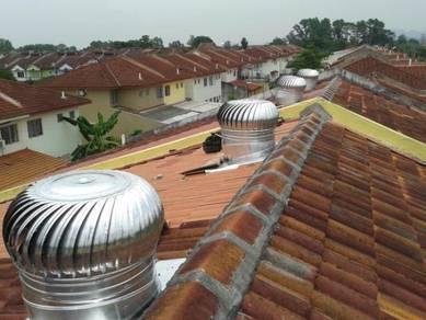 Pemasangan pahang/johor_turbine ventilator+A/vent