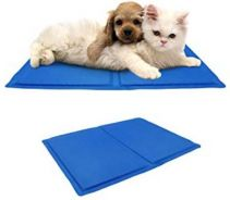 Pet Cooling Gel Pad with Glove,Bath Brush and Toy