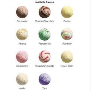 Ice Cream/ Ais Cream 6L (Scooped)