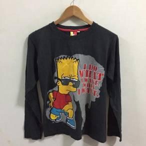 Bart Simpson Shirt Size M / 164