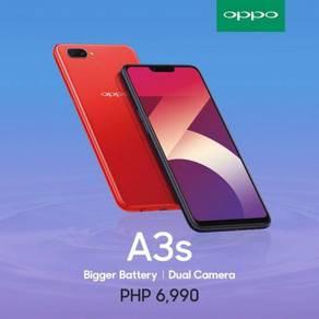 OPPO A3S 16GB ROM + 2GB RAM Ori OPPO Malaysia