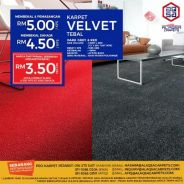 Our #WESAVEYOUSAVE Sale For Thick Velvet Carpet!