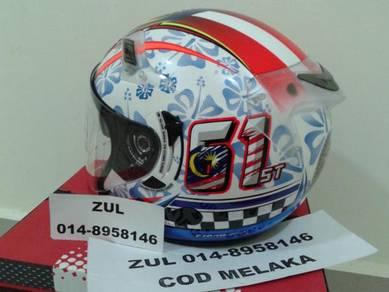 Helmet Kyt Merdeka 61st DOUBLE VISOR New In Box